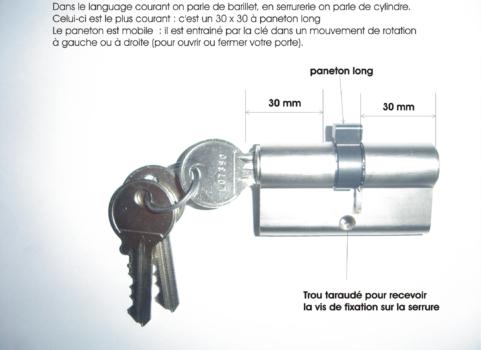 Changement barillet barillet auto changement barillet cylindre reims maison comment changer - Comment changer un barillet ...
